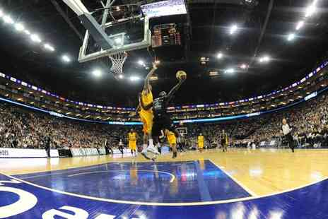 London Lions Basketball - Ticket to to London Lions Basketball Match   - Save 53%