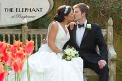 The Elephant Hotel - Wedding Reception Package For 60 Guests With Three Course Meal and Wine, Venue Hire, and Bridal Suite - Save 65%