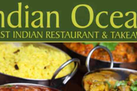 Indian Ocean Restaurant - Delicious Meal For Two - Save 53%