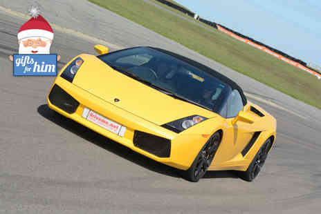 driveme  - Four lap supercar experience in one car   - Save 47%