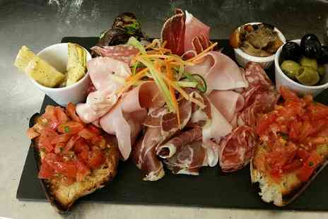Vivere Restaurant - Choice of Sharing Platter with Prosecco for Two - Save 0%