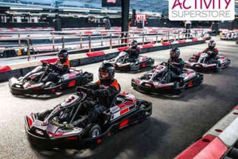Activity Superstore - 50 Lap Go Karting Race for Two - Save 51%