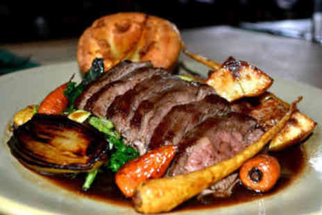 The Milestone - Two Course Sunday Lunch with Wine for Two - Save 0%
