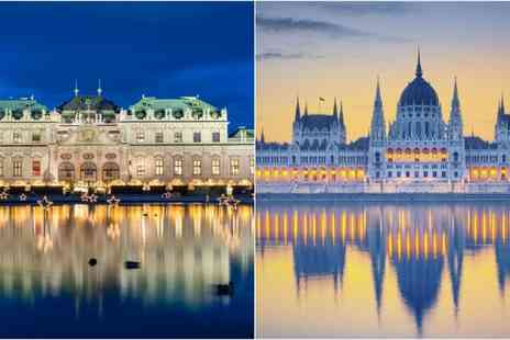 Vienna & Budapest Break - Four or Six Nights stay With flights to Budapest including train tickets to Vienna and breakfast - Save 0%