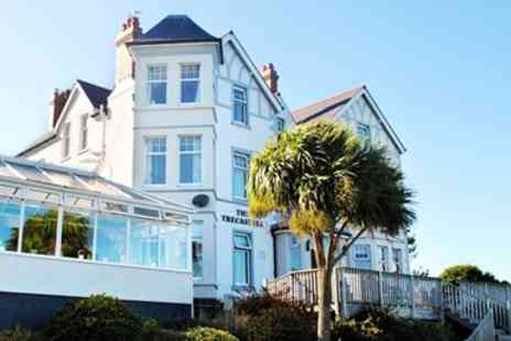 Trecastell Hotell - Two nights Stay with accommodation for two in a Standard Double or King Room with Sea Views- Save 51%