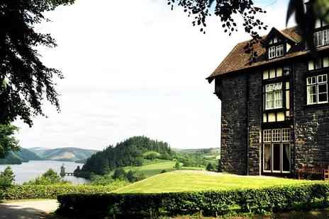 Lake Vyrnwy Hotel -  Overnight accommodation for two in a Garden View Room with full Welsh breakfast   - Save 35%
