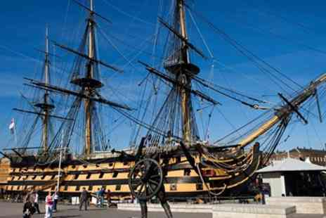 National Museum of The Royal Navy -  Annual Pass to Portsmouth Historic Dockyard For Two  - Save 51%
