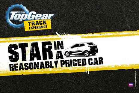 Top Gear Track Experience -  BBC Top Gear  Star in a Reasonably Priced Car full track experience and studio   - Save 0%