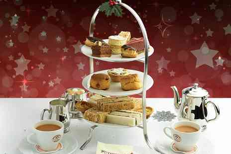 Patisserie Valerie - Festive afternoon tea for two - Save 24%