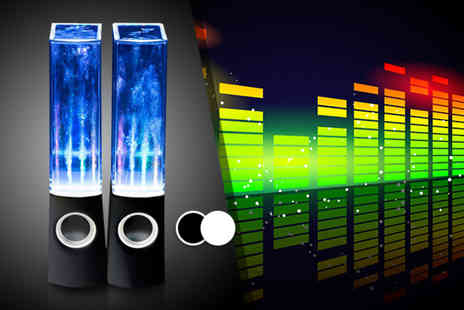 Chimp Electronics - Pair of dancing water speakers  - Save 0%