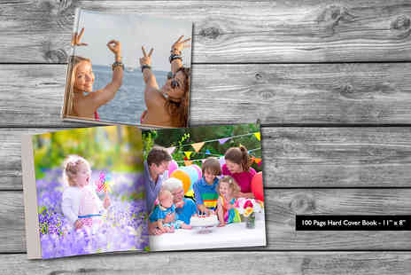 "Dip Into Sales - 11""x 8"" 100 page hard cover landscape photobook - Save 84%"