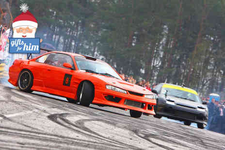 Drift Experience - Half day drifting experience for one - Save 67%
