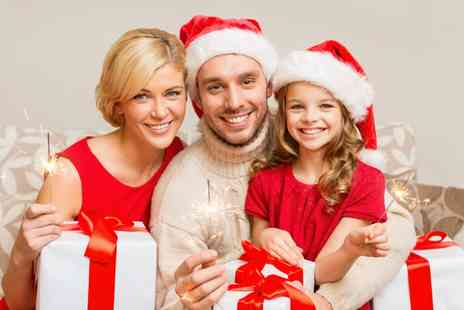 Studio Blink - Christmas Family Photoshoot with Prints, Mince Pies and Hot Drinks  - Save 0%
