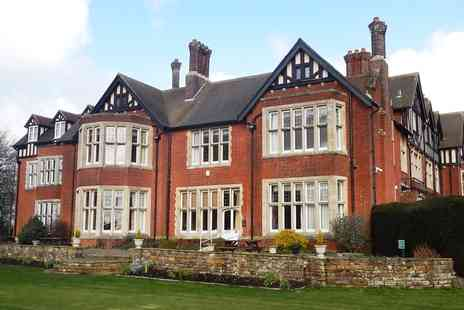 Scalford Hall Hotel - One or Two Night stay For Two With Breakfast Plus Dinner  - Save 0%
