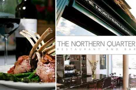 The Northern Quarter - Two Course Meal For Two With Glass of Champagne for £27.50 - Save 60%