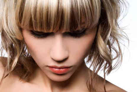 Limelight Salon - Haircut and Blow Dry with Half Head Highlights - Save 53%