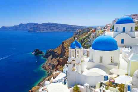 Memoires Beach Hotel - Seven Nights Stay in beautiful Santorini with breakfas, flights and hand luggage - Save 0%