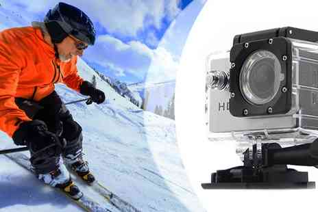 HK J and Y International Trading - AdventurePro Waterproof HD720P Sports Camera - Save 74%