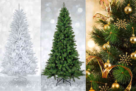 UK Home and Garden Store  - Six foot artificial Christmas tree   - Save 69%