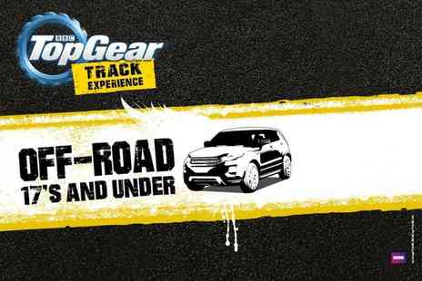 Top Gear Track Experience -   BBC Top Gear under 17s off roading experience in a Range Rover 4x4   - Save 0%