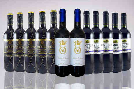 Premium Rioja - Case of 12 Spanish red wines  - Save 0%