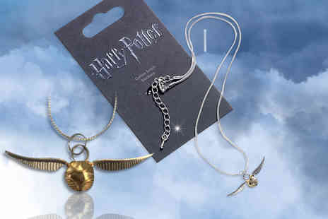 Aspire - Harry Potter silver plated Golden Snitch necklace - Save 57%