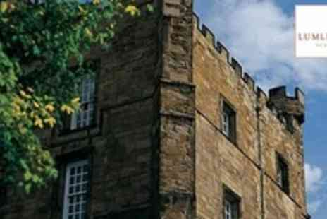 Lumley Castle Hotel - One Night Stay For Two With Breakfast and Bottle of Wine in Durham - Save 65%