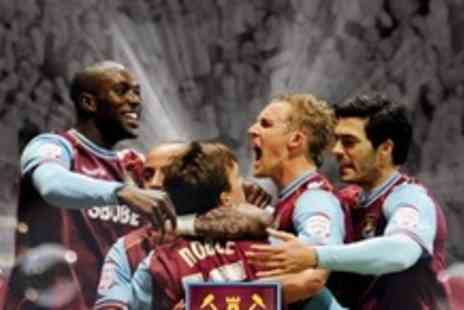 West Ham United FC -  Two Tickets for West Ham United v Middlesbrough - Save 53%