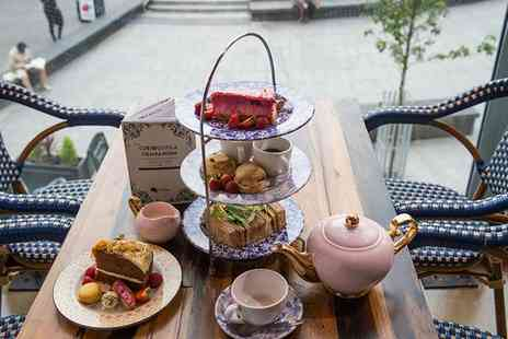 Curious Manor - Traditional, Sparkling or Cocktail Afternoon Tea for Two - Save 38%