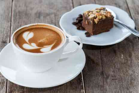 Frio Milk Bar - Choice of Hot Chocolate or a Gourmet Milkshake and Cake for Two - Save 49%