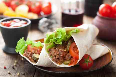 Frio Milk Bar - Wrap or Flatbread with a Cup of Coffee for Two - Save 44%