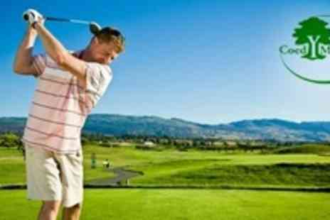Coed y Mwstwr Golf Club - Two Rounds of Golf For Four With Hot Drink Each - Save 81%