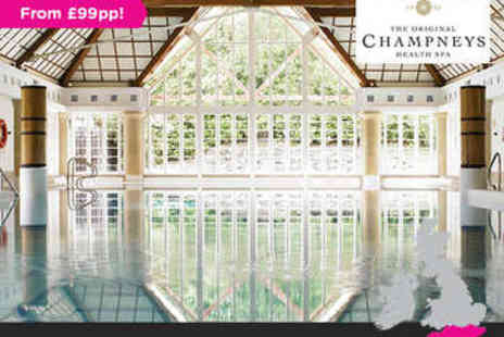 Champneys Forest Mere - Overnight stay for two plus Spa Package - Save 0%