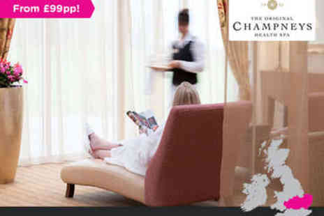 Champneys Springs - Overnight stay for two in Leicestershire - Save 0%