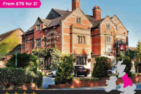 Nelson Hotels - Overnight in Cheshire Break for two - Save 0%