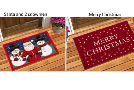 The Rug Shop - Washable Christmas Door Mat - Save 80%