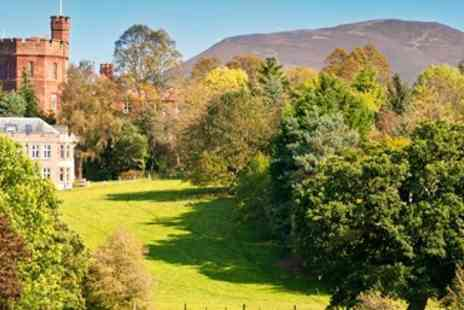 Ruthin Castle Hotel - Luxurious Welsh Castle Stay with Cream Tea & Upgrade - Save 48%