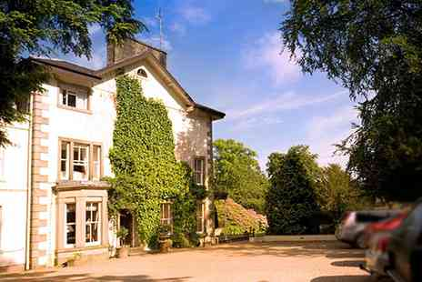 Lovelady Shield Country House -  Deluxe Cumbria Break with Tasting Menu & Wine  - Save 59%