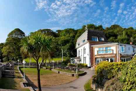 Oxwich Bay Hotel -  Oxwich Bay Afternoon Tea & Bubbly for 2 with Sea Views - Save 46%