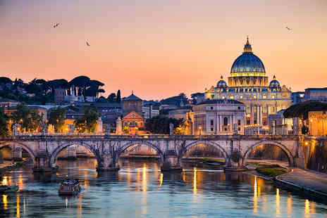 Holiday Desire - Two night Rome stay including flights, breakfast and a choice of tour - Save 29%