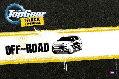 Top Gear Track Experience - BBC Top Gear off roading experience and studio access  - Save 0%