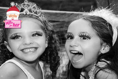 Face - Kids princess party with mini makeovers goody bags cake, dancing - Save 52%
