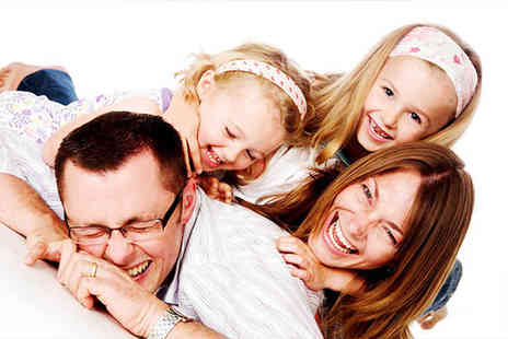 Dion Gallichan Photography - Family photoshoot, two prints, CD and £50 voucher for wall art  - Save 93%