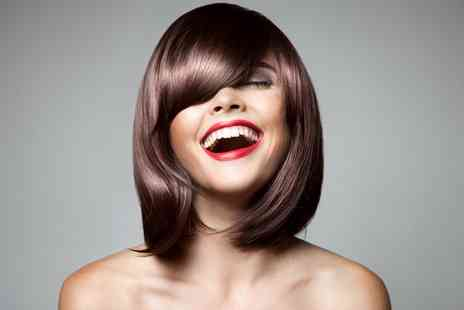 Flawless Luxe - Cut, Blow Dry and Condition With Highlights or Colour - Save 64%