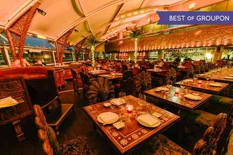 Gilgamesh - Three Course Pan Asian Dining Experience Plus Champagne Cocktails  - Save 65%