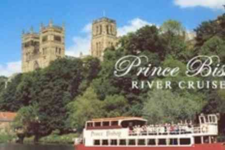 Prince Bishop River Cruiser - Durham boat tour for two adults - Save 50%