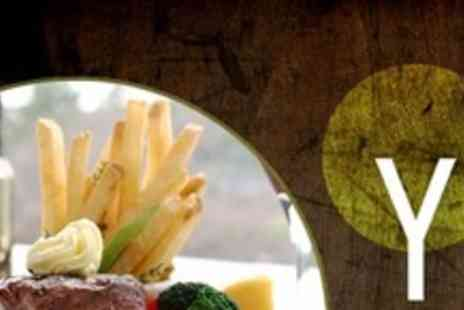 The Yard - Two Courses of Pub Fare For Two People - Save 66%