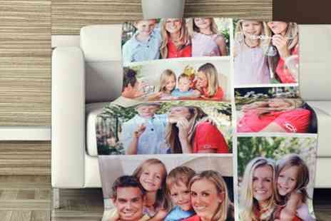 Dinkleboo - Personalised Collage Blanket - Save 68%