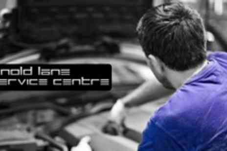 Arnold Lane Service Centre - MOT Plus Health Check, Engine Diagnostics, and Car Wash - Save 76%