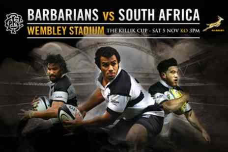 Barbarians - Exclusive Early Bird for Barbarians v South Africa  - Save 0%